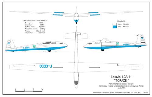 TOPAZE LCA11